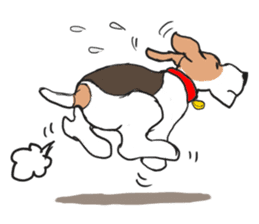 Feelings of Wire Fox Terrier sticker #4569798