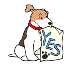 Feelings of Wire Fox Terrier sticker #4569801