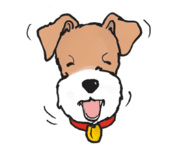 Feelings of Wire Fox Terrier sticker #4569805