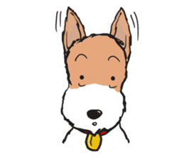 Feelings of Wire Fox Terrier sticker #4569809