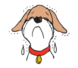 Feelings of Wire Fox Terrier sticker #4569815