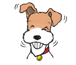Feelings of Wire Fox Terrier sticker #4569818