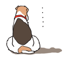 Feelings of Wire Fox Terrier sticker #4569822