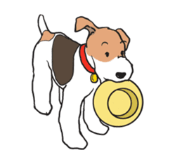 Feelings of Wire Fox Terrier sticker #4569830