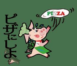 Pane-Shirushiru, Risube, Margo, etc. sticker #4576145