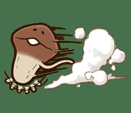 Funghi Manga Sticker sticker #4578833