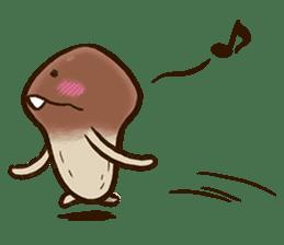 Funghi Manga Sticker sticker #4578835