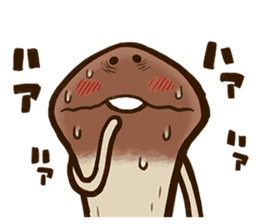 Funghi Manga Sticker sticker #4578839