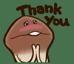 Funghi Manga Sticker sticker #4578842