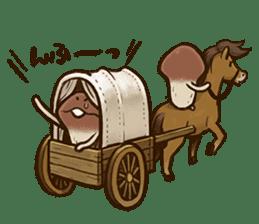 Funghi Manga Sticker sticker #4578844