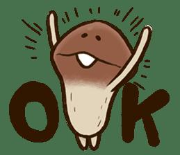 Funghi Manga Sticker sticker #4578850