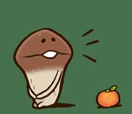 Funghi Manga Sticker sticker #4578853