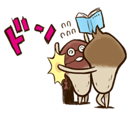 Funghi Manga Sticker sticker #4578855