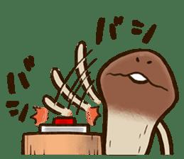 Funghi Manga Sticker sticker #4578861