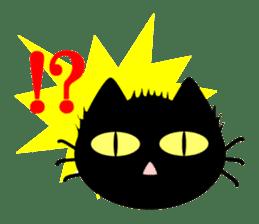 taekwon-do white cat and black cat sticker #4580318