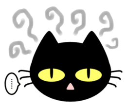 taekwon-do white cat and black cat sticker #4580338