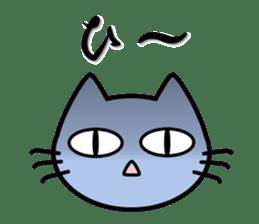 taekwon-do white cat and black cat sticker #4580341