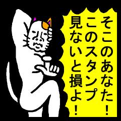 very strange cat