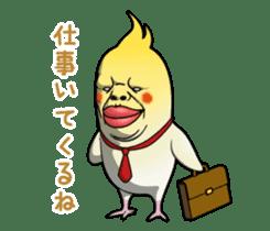 ugly cockatiel sticker sticker #4596768