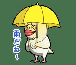 ugly cockatiel sticker sticker #4596798
