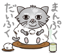 """The name of this cat is """"Nekota"""". sticker #4606009"""
