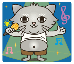 """The name of this cat is """"Nekota"""". sticker #4606015"""