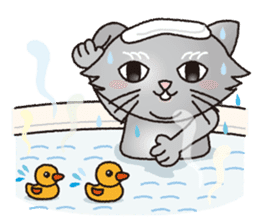 """The name of this cat is """"Nekota"""". sticker #4606026"""