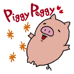 Piggy Peggy (English, Japanese speaker)