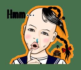 Sakurako's Sticker (English Ver.) sticker #4607241