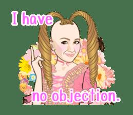 Sakurako's Sticker (English Ver.) sticker #4607260