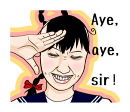 Sakurako's Sticker (English Ver.) sticker #4607261