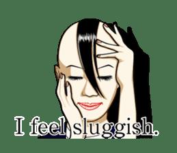 Sakurako's Sticker (English Ver.) sticker #4607262