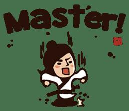 Kung Fu Time! sticker #4607558