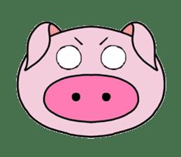 love pig sticker sticker #4608205