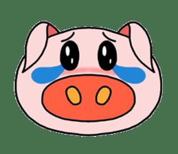 love pig sticker sticker #4608209