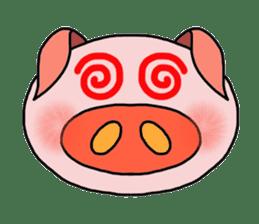 love pig sticker sticker #4608210