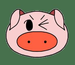 love pig sticker sticker #4608214