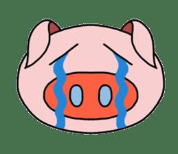 love pig sticker sticker #4608220