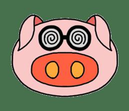 love pig sticker sticker #4608228
