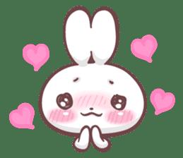 Kyun Kyun Bunny(English) sticker #4609240