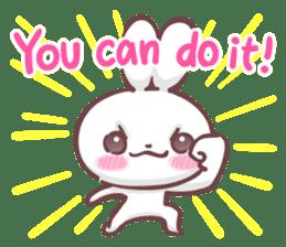 Kyun Kyun Bunny(English) sticker #4609258