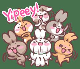 Kyun Kyun Bunny(English) sticker #4609262