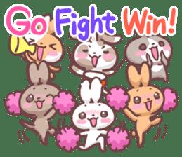 Kyun Kyun Bunny(English) sticker #4609263