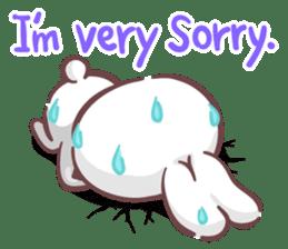 Kyun Kyun Bunny(English) sticker #4609265