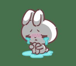 Kyun Kyun Bunny(English) sticker #4609268