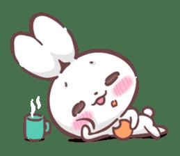 Kyun Kyun Bunny(English) sticker #4609271
