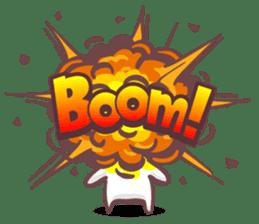 Kyun Kyun Bunny(English) sticker #4609274