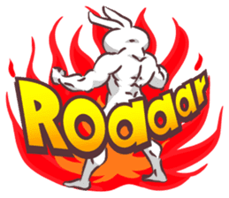 Kyun Kyun Bunny(English) sticker #4609279