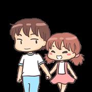 สติ๊กเกอร์ไลน์ Momo & Taro