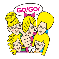 GO!GO!FIVE BLONDE GIRLS